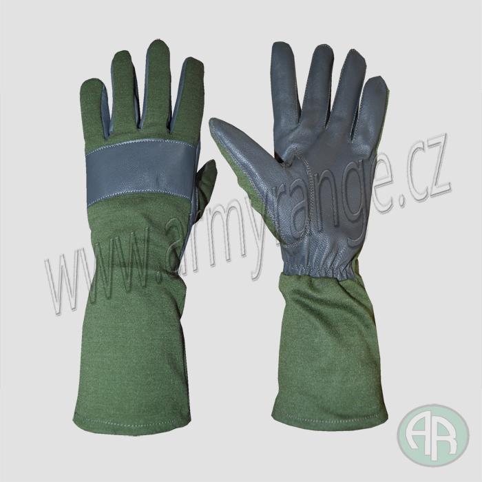 599e514a456 BW bojové rukavice kůže NOMEX