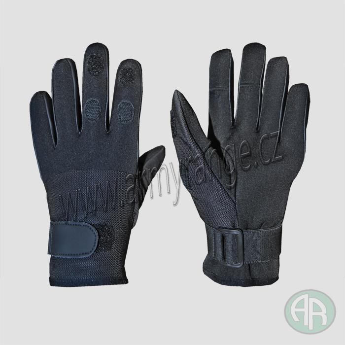 99dea6069 RUKAVICE | Taktické rukavice neopren, Mesh , černá - vel. M, MFH ...